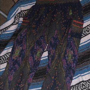 High cut harem pants